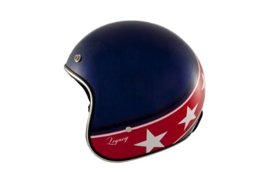 Capacete Zeus 380H BLUE K57 RED