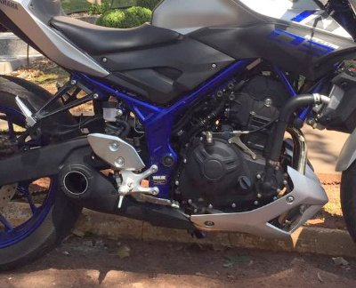 Escapamento Esportivo Yamaha MT-03 Firetong Willy Made
