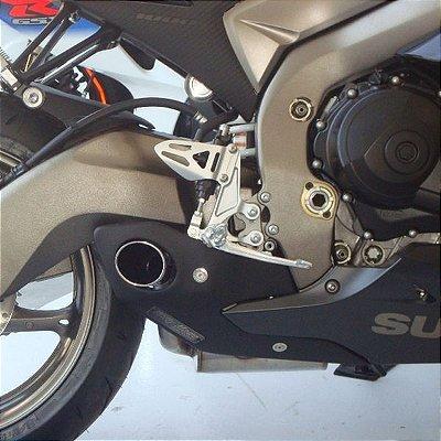 Escapamento Esportivo Suzuki GSXR 1000 (11/13) Willy Made Firetong