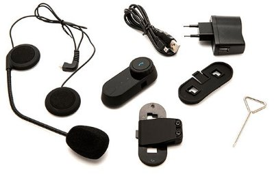 Intercomunicador Bluetooth MotoCom Prime (1 Peça)