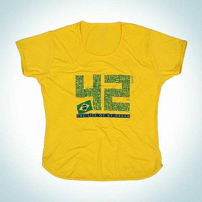 Camiseta modelo 42.195 - Baby look