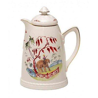 Garrafa Térmica em Porcelana desenho Elefante