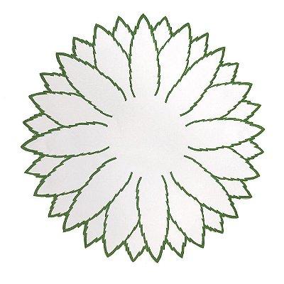 DUPLICADO - Jogo americano begônia verde