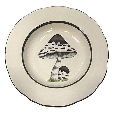 Prato sobremesa cogumelo 1