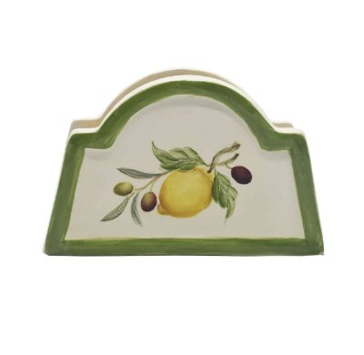 Porta guardanapo de papel com desenho de frutas - sob encomenda
