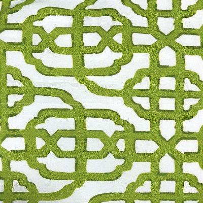 Toalha de mesa estampa corda verde 2 x 2m