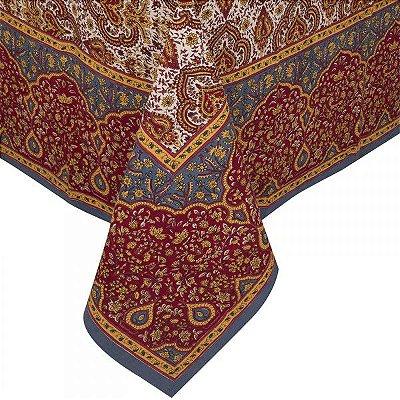 Toalha de mesa indiana 1,80 x 1,80m
