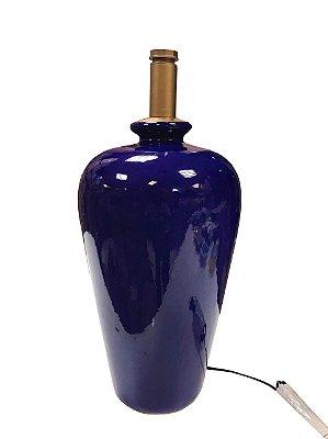 Base de abajur monica azul royal