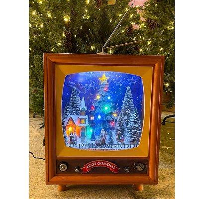 Brinquedo tv cenário de natal Ref: AC 881