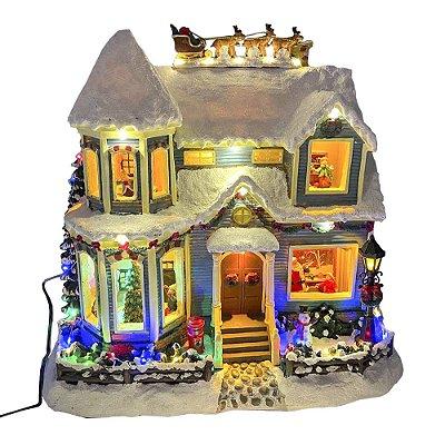 Brinquedo casinha cenário de natal Ref: AC 876