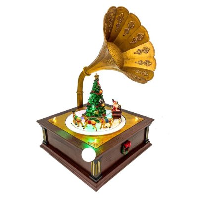 Brinquedo de natal gramofone Ref: AC 856