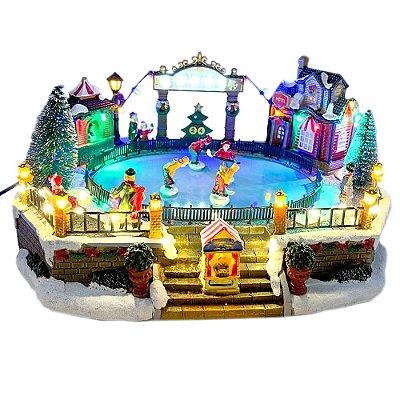 Brinquedo de natal pista de patinação Ref: AC 871