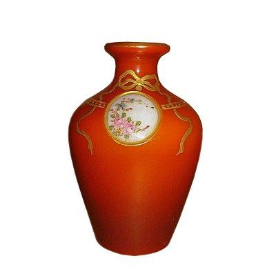Vaso Baccarat opalina rouge de fer