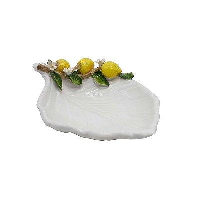 Petisqueira folha galho de limão