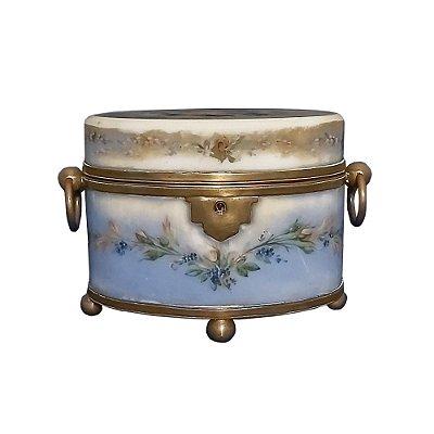 Caixa Opalina Baccarat Século XIX