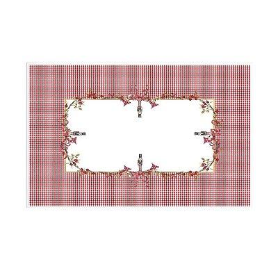 Toalha de mesa de Natal Guirlanda 1,63 x 2,93