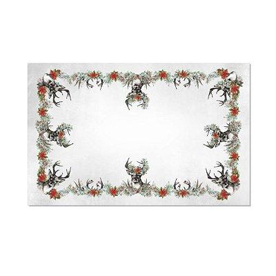Toalha de mesa Christmas forest quadrada 2,10 x 2,10