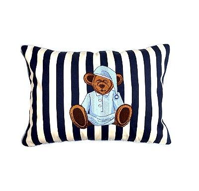 Almofada listrada ursinho Sleepy Bear