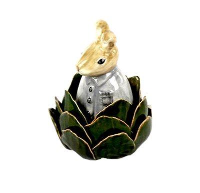 Coelhinho de cerâmica na Alcachofra Zanatta Casa