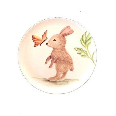 Prato Baby Bunny Sobremesa (pintado à mão)
