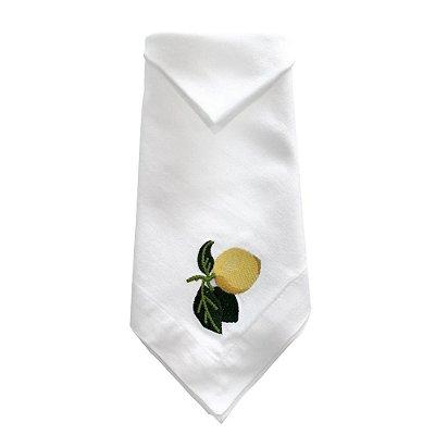Guardanapo de Limão Siciliano Bordado