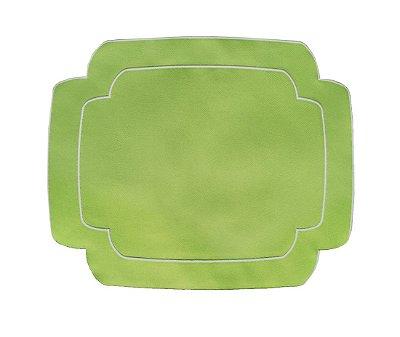 Jogo Americano Retangular Verde Abacate