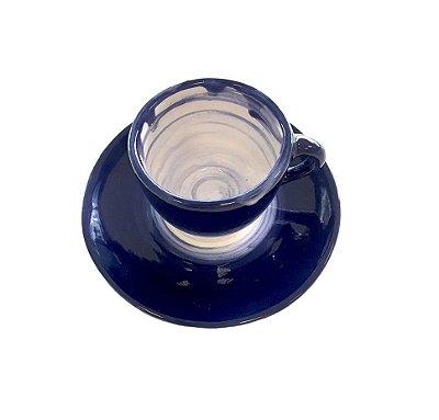 Xícara de Café Tie Dye (cj com 4)