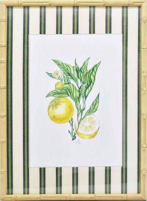 Quadro Limão Sicliano 2 Zanatta Casa