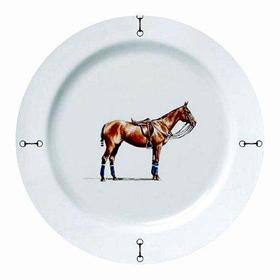 Prato raso Cavalo Haras