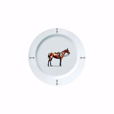 Prato sobremesa Cavalo Haras