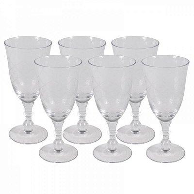 Taças Transparentes Estrelinha(conjunto com 6)