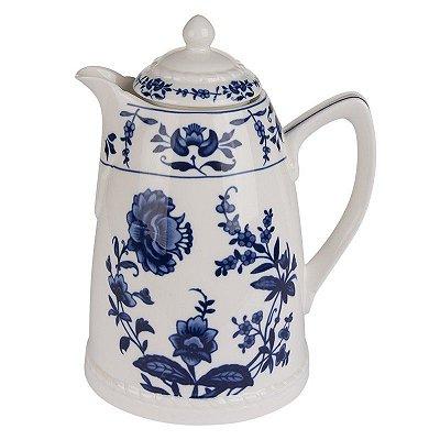 Garrafa Térmica em Porcelana Bleu