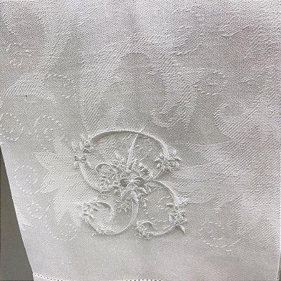 Toalha de Lavabo Monograma
