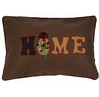 Almofada bordada Home (rim)