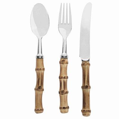 Faqueiro Bambu jantar (18 peças)