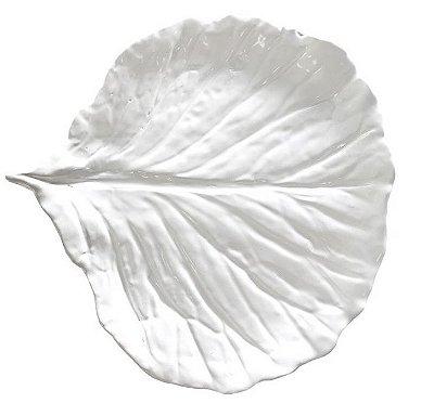 Prato sobremesa Couve branco Zanatta Casa