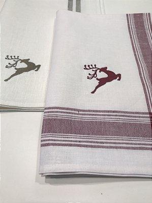 Kit de Natal 2 Toalhas de Lavabo