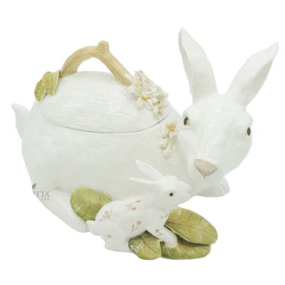 Sopeira de Coelho em cerâmica Zanatta Casa