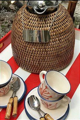 Placa de Prata Chá