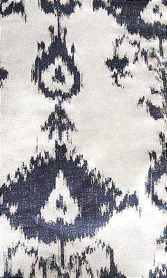 Toalha de mesa Ikat em linho (1,80 x 1,80)