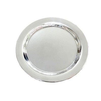 Prato de Pão em prata com Monograma