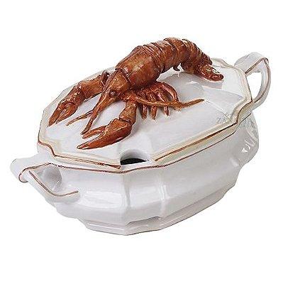 Sopeira de ceramica de Lagosta Zanatta Casa