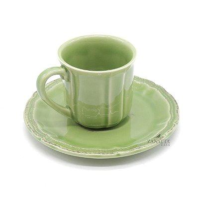Xícara de Chá Verde Celadon(cj com2)
