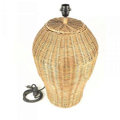 Abajur de Rattan (sem cúpula)