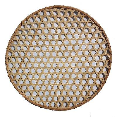 Sousplat de Palha e Bambu