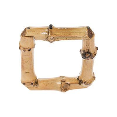 Porta Guardanapo de Bambu Quadrado (2 unidades)