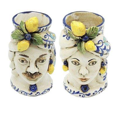 Cabeças Mouras com Limão Siciliano Mini (par) Zanatta Casa