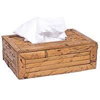 Caixa para lenço de papel de Bambu