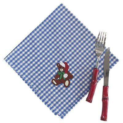 Guardanapos De Natal Urso e Ginger (jogo com 12)
