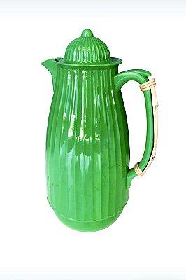 Garrafa Térmica Lady Bambu Verde Esmeralda